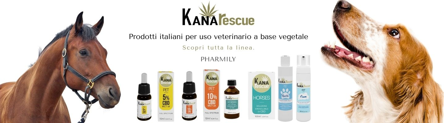 Prodotti Kanarescue a base vegetale per uso veterinario in sconto su pharmily.it