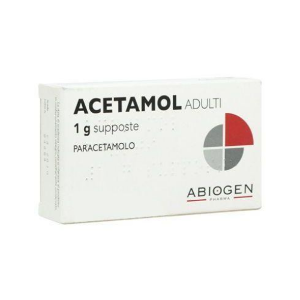 Acetamol Supposte Adulti 10 Supposte