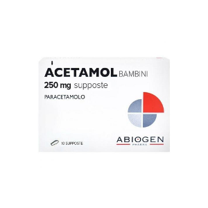 Acetamol Supposte Bambini 250 mg 10 Supposte
