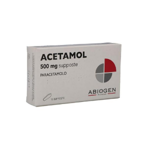 ACETAMOL*10SUPP 500MG