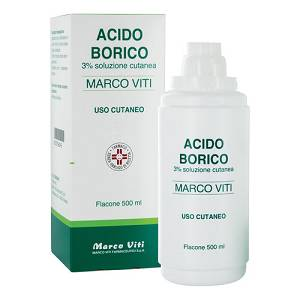 ACIDO BORICO MV*3% 500ML