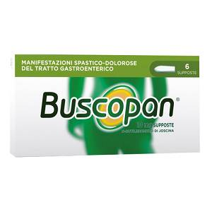 Buscopan 10 mg supp.