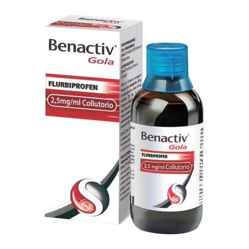 Benactiv Gola 25 mg/ml Collutorio
