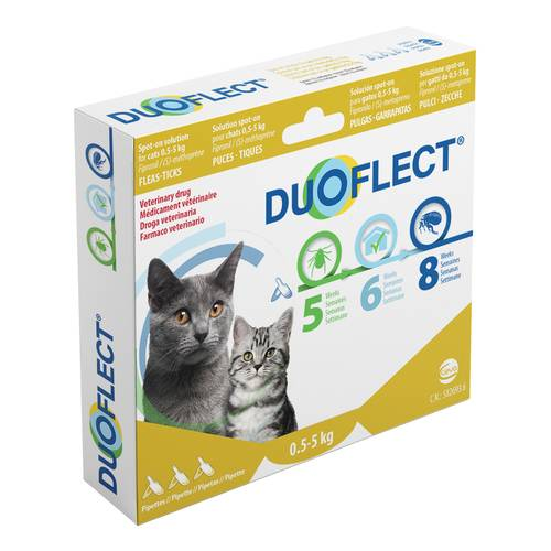DUOFLECT*3PIPPETTE  0,4ML SP.GATTI