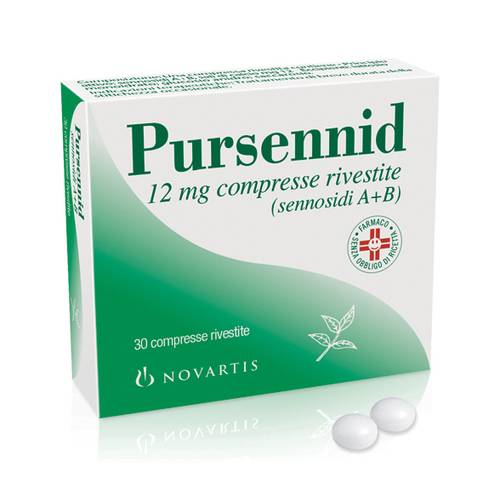 Pursennid 12 mg compresse