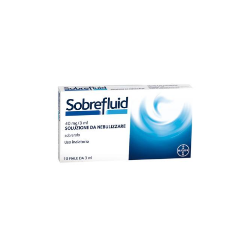 Sobrefluid sol. nebul. 40 mg/3 ml fiale